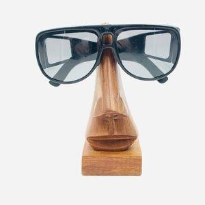 Vintage Foster Grant Black Aviator Sunglasses
